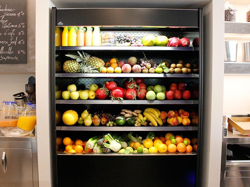 Parete frutta e verdura