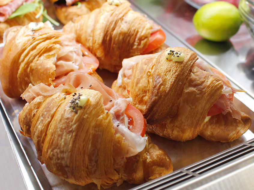 Croissant salati