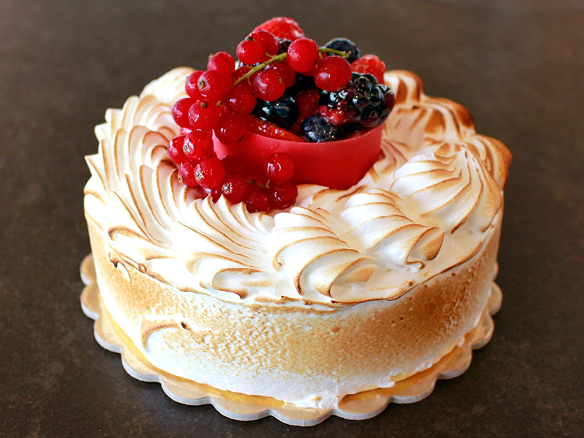 Red Fruit Meringue