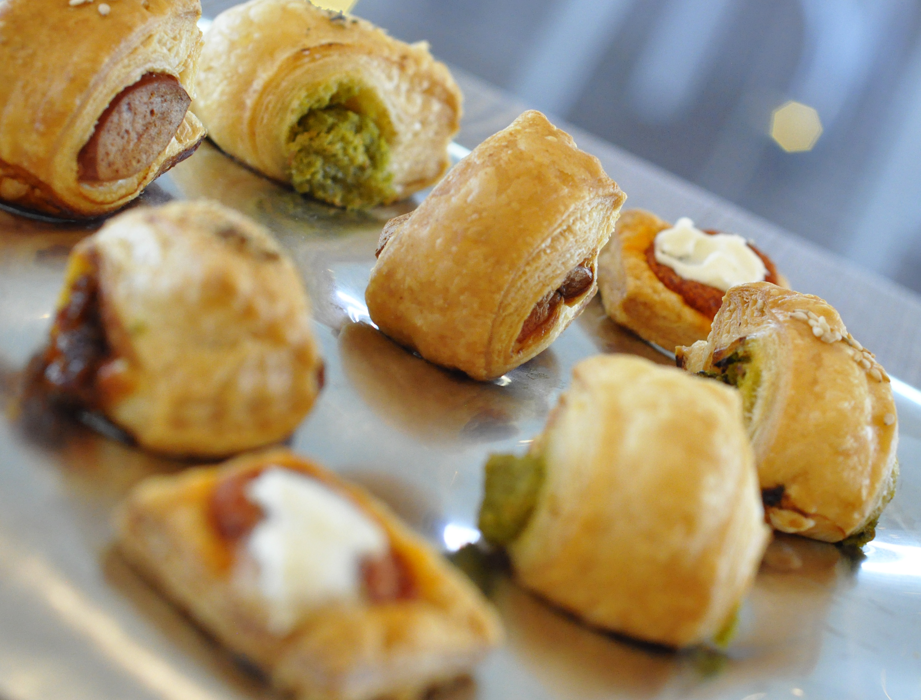 Puff pastry snacks